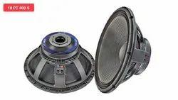 SWETON Aluminium 18 PT 400 S Dual Base Speaker, 1000w