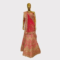 Rani Heavy Work Bridal Lehenga