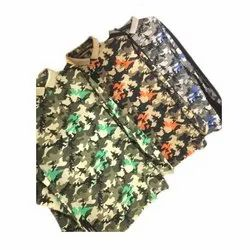 Mens Floral Printed Casual Wear Shirt