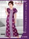 Rishika Cotton Proceian Printed Gown