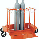 Four Cylinder Storage Trolley