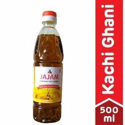 Jajam Kachi Ghani Pure Mustard Oil 500 Ml