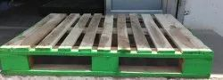 Reusable 4 Way Wooden Pallet Rental Service