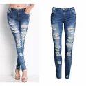 Women Rugged Jeans