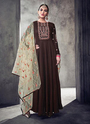 Pure Muslin Party Wear Ready Made Anarkali Suits
