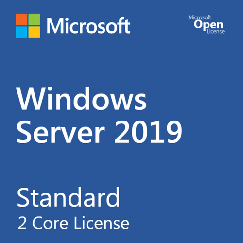 Microsoft Windows Server 2019 Standard 2 Core For Windows Server Dc