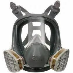3M Full Face Reusable Respirator, 6800