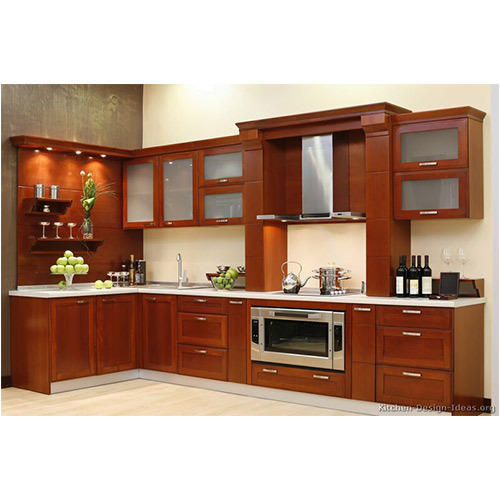 Designer Modular Kitchen At Rs 360 Square Feet: Wooden Modular Kitchen At Rs 800 /square Feet