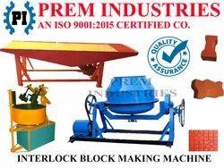 Interlock Tiles Machine