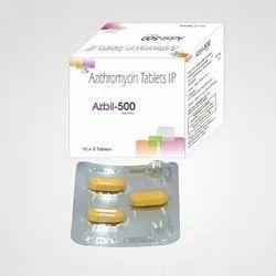 500 mg Azithromycin Tablets I.P