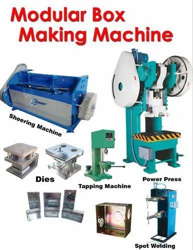 ELECTRICAL MODULAR BOX - Modular Box Sheering Machine