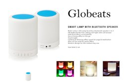 Globeats Smart Lamp With Bluetooth Speaker