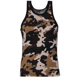 Woodland Camouflage Printed Men's Cotton Vest