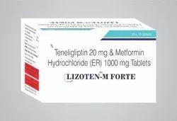 Teneligliptin 20mg,Metformin 1000mg SR Tablet