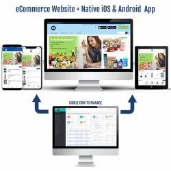 B2C eCommerce Website and Native Mobile App on iOS & Android Platform Services