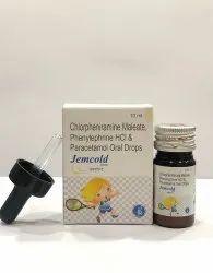 Paracetamol, Phenylephrine HCL & Chlorpheniramine Maleate Drops