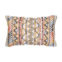 Cotton Embroidered Pillow Cover