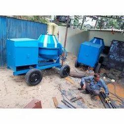 Diesel Engine Concrete Mixture Machine One Bag Capacity