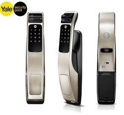 Yale Wireless Biometric Lock, Black