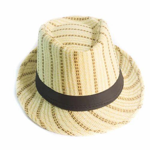 6255df1d2258ca Ceramic And Black Men's Designer Hat, Rs 60 /piece, Alfa Traders ...