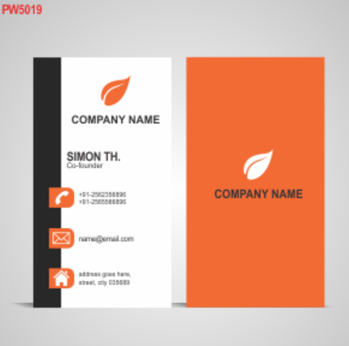 Production wala manufacturer of premium business cards vertical business cards pw5019 reheart Choice Image