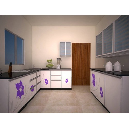 Silver Bell Multicolor Modular Kitchen Furniture, Rs 80000