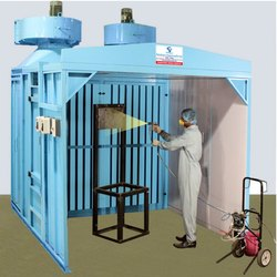 Dry Filter Spray Booth