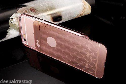 premium selection bda9f 59646 Luxury Aluminium Back Cover Diamond Acrylic For iphone 5 S