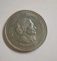 Indira Gandhi A Big Coin