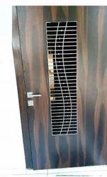 Wooden Stainless Steel Grill Door