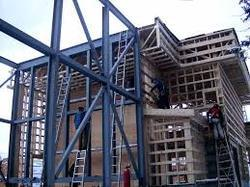 Steel Frame Structures Prefab Industrial Building Construction Service, in Chennai
