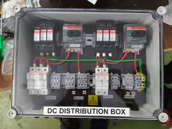 1 : 1 DCDB Upto 5Kwp With MCB