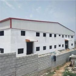 Mild Steel Steel Shed Fabrication, Highway, For Indsutrial