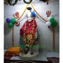 Handmade Marble Sai Baba Statue