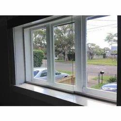 White Soundproof Aluminum Window