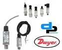 Dwyer 628-70-GH-P3-E4-S1 Pressure Transmitter 0- 2 Bar