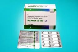 Amoxycillin Potassium Clavulanate And Lactic Acid Bacillus Tablets