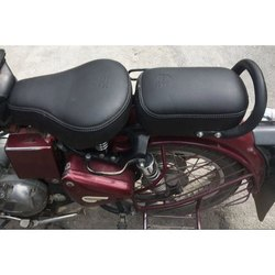 Front Rear Two Wheeler Royal Enfield Seat Cover