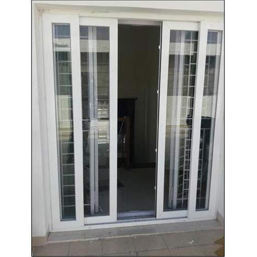 Upvc Door Upvc 2 Track Sliding Door Manufacturer From Noida
