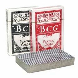 BCG Club Playing Cards