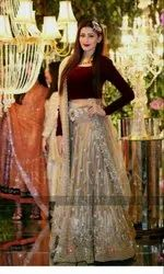 NEW DESIGNER Stylish  LAHENGA CHOLI