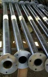 Cast Iron Double Flanged Pipes, For Utilities Water, Size/Diameter: >4 inch