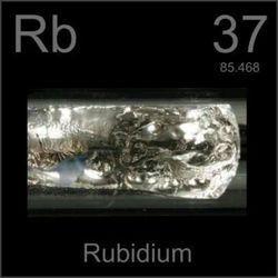 Rubidium Metal & Oxides