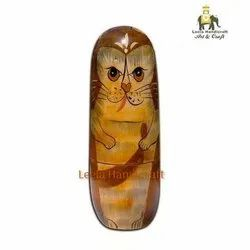 Wooden Cat Doll