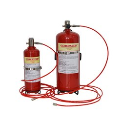 Carbon Steel Direct Fire Suppression System, For Office, Capacity: 4Kg