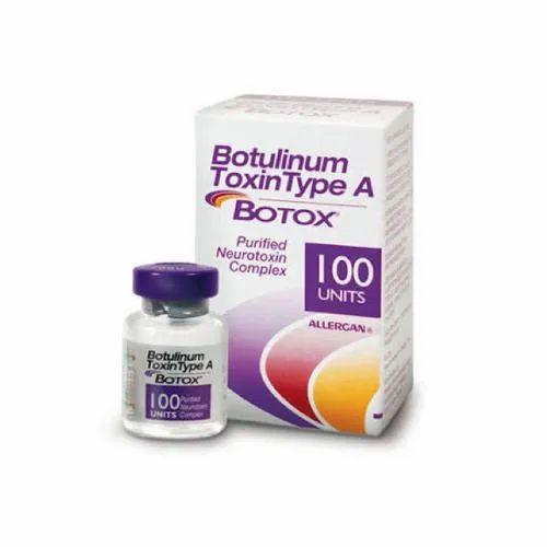 Botox Injection OnabotulinumtoxinA (100iu) Vial