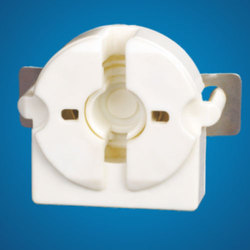 UL 1017 Tubular Fluorescent Lamp Holder, Fixing:Pins Holes