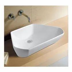 Tita Ceramic Kubix Art Basin, For Bathroom