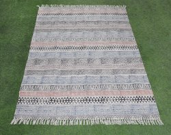 Cotton Handmade Durries & Carpet