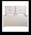 White Chf500 Blue Star Deep Freezer, Capacity: 500l, -24 C To + 8 C